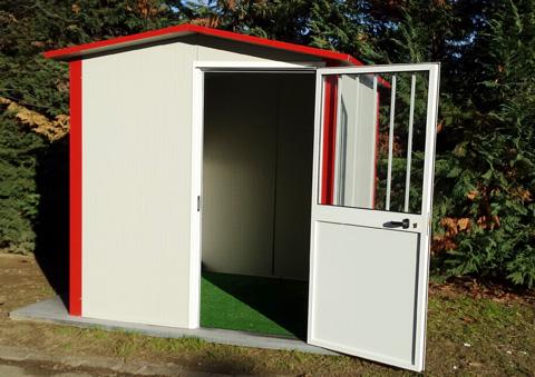 Casette da giardino in lamiera design casa creativa e - Prefabbricati da giardino ...