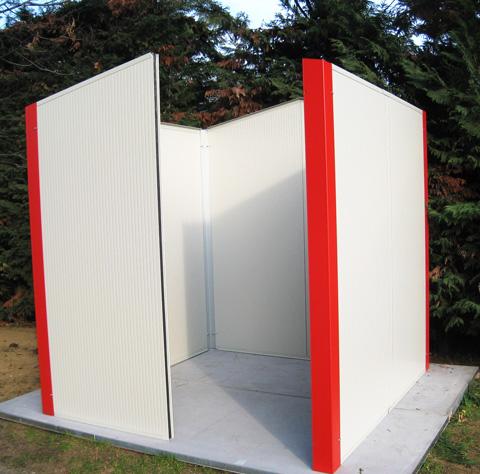 Casette da giardino isolate prefabbricati isolati - Casette da giardino in alluminio ...