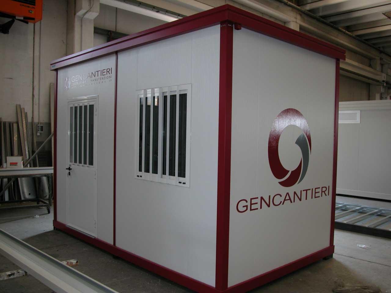 Container Per Ufficio Usati : Container da cantiere nuovi usati a noleggio novobox srl
