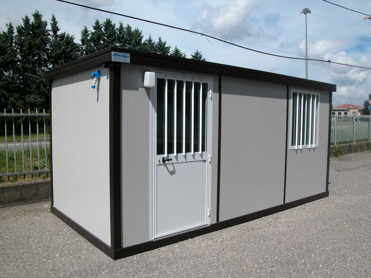 baracche da cantiere nuove usate a noleggio novobox srl