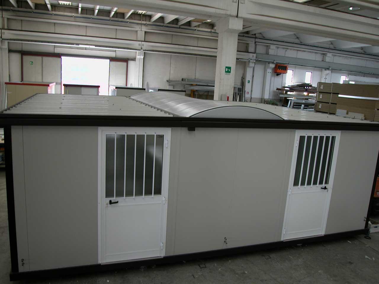 Box Ufficio Alluminio Usato : Baracche da cantiere nuove usate a noleggio novobox srl