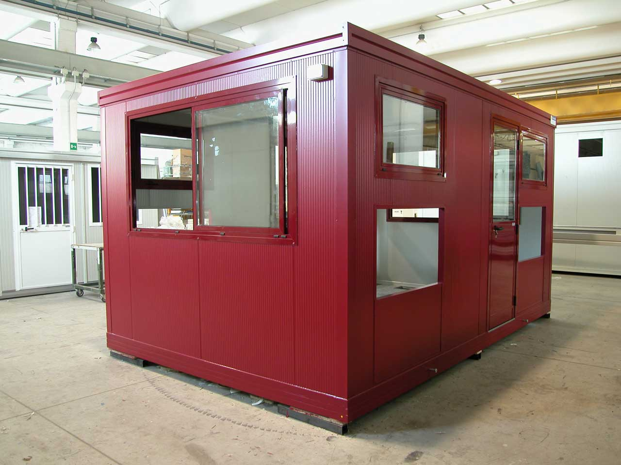 Cabina Bagno Prefabbricata : Shelter cabine tecniche u003e monoblocchi prefabbricati